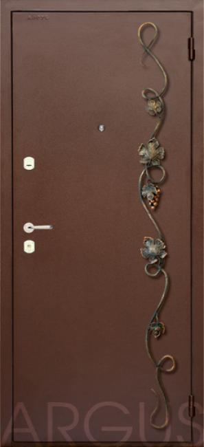 металлические двери с элементами ковки цены